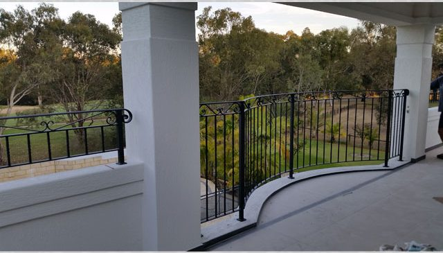 Arch Style External Balcony