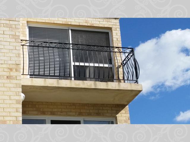 Ascot Belly Bar External Balcony Balustrade
