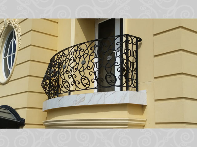 Classic External Arched Balcony