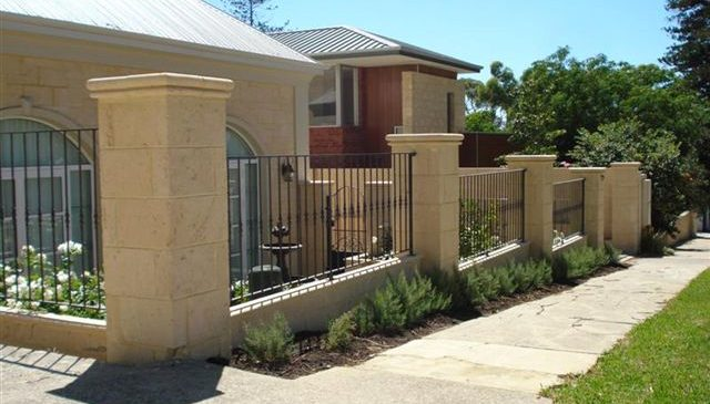 Contemporary Infill Fence