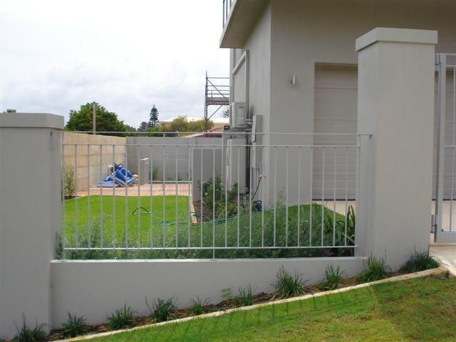Modern Infill Fence
