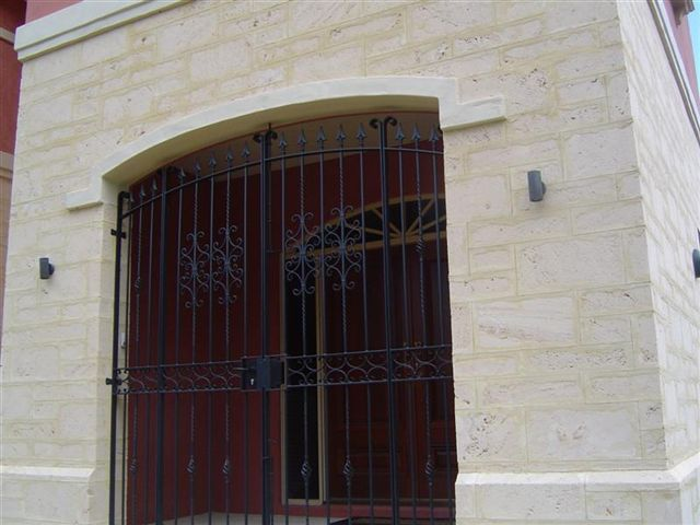 Portico Entry Gate