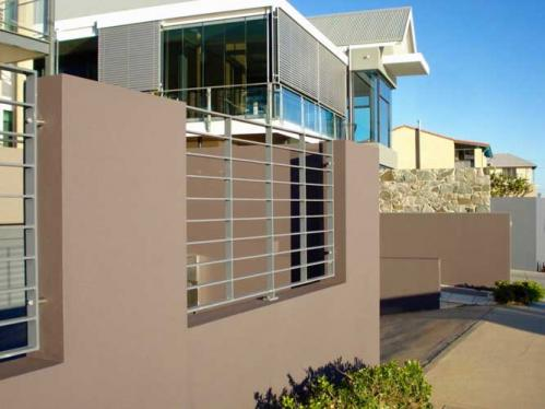 Industrial Modern Style Fence