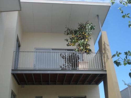 Industrial Style Balcony Balustrade