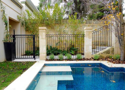 Pool Gate And Fence