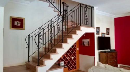 Scroll Panel Stair Balustrade