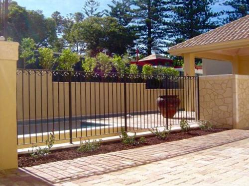 Tuscan Pool Fence