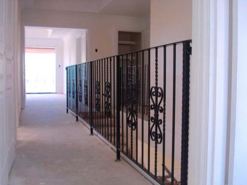 Twisted Bars Heart Scroll Balustrade