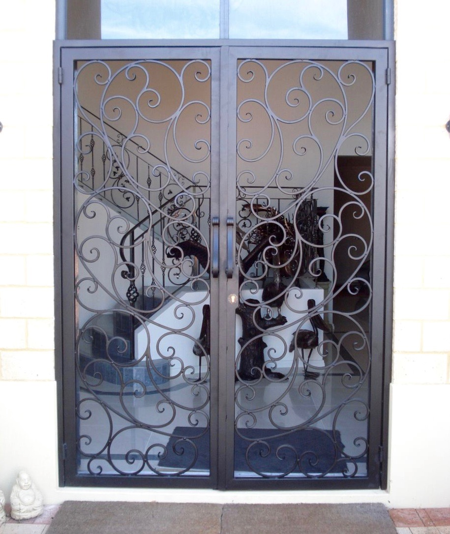 Wrought Iron Gates And Steel Barriers: Wrought Iron Security Gates